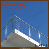 Exteriror Cable Railing Stainless Steel Terrace Balustrade for Project Design (SJ-H1448)