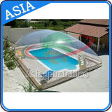 Durable Inflatable Transparent Swimming Pool Cover for Swimming Pool, Outdoor Complete Transparent Inflatable Pool Cover, Inflatable Pool Dome
