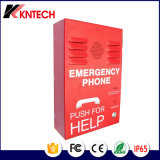 VoIP Emergency Phone/Red Colour Phone/Handfree Intercom Knzd-38