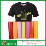 Qingyi PVC Heat Transfer Vinyl for Apparel