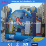 Mermaid Sea World Inflatable Castle Jumping Bounce House
