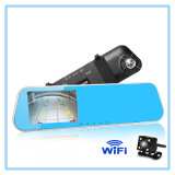 Full HD Rear View Mirror Dvrs with WiFi Car DVR