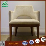 Hotel Bedroom Chair with Wooden Table Design
