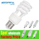 Manufacturer Hot Sale Wholesale T3/T4/T5 Full Half Spiral Tube LED CFL Lighting / 2u/3u/4u Energy Saving Light Bulb / Lotus Energy Saving Lamp