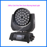 CREE LED Stage Light 36*12W Zoom Moving Head Light