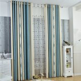 Clean Style Bedroom Chenille Jacquard Blackout Curtain Fabric