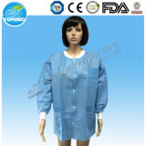SMS Hospital Lab Coat with Cotton Knitted Cuff