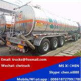 42000 Liter 3 Axles Aluminum Alloy Tank Semi Trailer