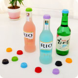 Customized Food Grade Silicone Wine Saver Beer Bottle Stopper
