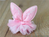 Lovely Rabbit Ear Lace Hat Dog Hairpin Pet Accessories
