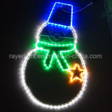 2017 LED Rope Lights Snowman Christmas Decorations for Garden