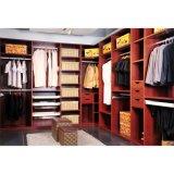 Grandshine High Quality Cherry Melamine Wood Walk-in Wardrobe