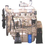 British Ricardo 4 Cylinders Turbo Charged Water Cooled 1500rpm Hot Sale Ce Certificated China Engine 84kw Diesel Engine for Generating Electricity