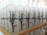 750ml Decorated Glass Vodka Bottle (BV1104A)