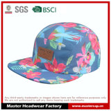 Sublimation Printing Camper Cap with Embossed Leather