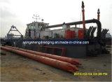 Digging Sand Pump Dredger in Nigeria (CSD 200)