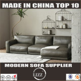 Simple European Style Leather Sofa (Lz708)