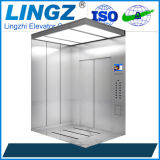 Passenger Home Lift with Hairline Stainless Steel