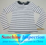 T-Shirt Quality Inspection in China and in India / During Production Inspection / Pre-Shipment Inspection / Container Loading Check