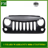 Carbon Fiber Angry Bird Grille for Jeep Wrangler Rubicon