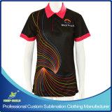 Full Sublimation Custom Polo Shirt for Company Uniform