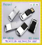 4GB Free Logo Metal Pendrive USB Flash (GC-M021)