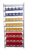 Adjustable Industrial Storage Shelf with Bins (WSR4018-005)