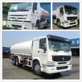 Cnhtc Sinotruk HOWO 25000liters Fuel Tank Truck 30000liters for Nigeria