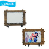 DIY Custom Personalized Photo Sublimation Slate Rock Frame