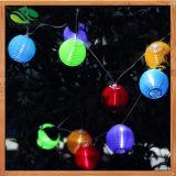 Solar LED Lantern String Lights for Christmas, Wedding