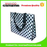 90GSM Nonwoven Shopper Bag with Polka Pattern