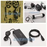 8fun/Bafang/Bafun Motor 2013 New Model BBS-01 Middle Driven Motor 36V 350W Kits with Tube Battery