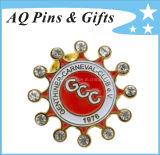 Metal Promotional Gift Lapel Pin Badge with Diamond (badge-082)