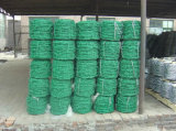 12#*14# Superior Quality PVC Coated Barbed Wire for Fence