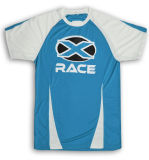 Dry Fit Color Combination T Shirt with Custom Logo
