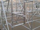 Ringlock system scaffolding