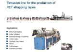 Plastic Machinery/PET Strapping Band Extrusion Production Line