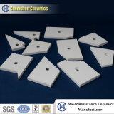 High Alumina 92% Engineered Custom Ceramic Liner for Wear Protection