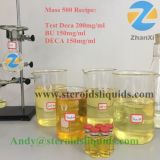 Mixed Injectable Steroids Liquids Vials Deca Equipoise Mass 500 Mg/Ml