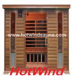 Far Infrared Sauna Portable Wood Sauna for 4 People (SEK-D4)