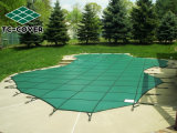 Custom Logo Green Mesh Swimming Pool Leaf Safety Cover for Any Family Outdoor Pool and SPA