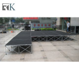 Portable Stage with Fixed Legs for Performance Event with Discount
