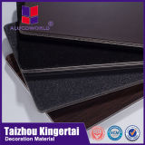 Alucoworld 2mm Frame Partition Clad Steel Wire Aluminium Material Suppliers Sheet