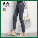 Good Quality Fitness Fashion Design Cotton Women Jeans