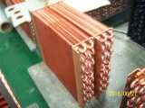Air Cooled Copper Tube Fin Type Refrigeration Equipment Condenser