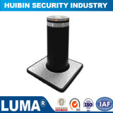 304 Stainless Steel Automatic Hydraulic Bollard with LED Fast Rising Speed Bollard