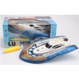 Water Toys of Luruxy Inflatable Electric Boat with Pump