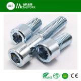 Grade8.8 Blue Zinc Plated Carbon Steel Allen Screw (DIN912)