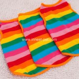 Rainbow Summer Dog Product Tshirt, Pet Clothing, Puppy Clothes