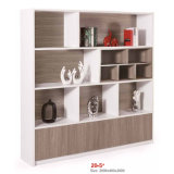 Home Living Room Office Open Wood Storage Cabinet